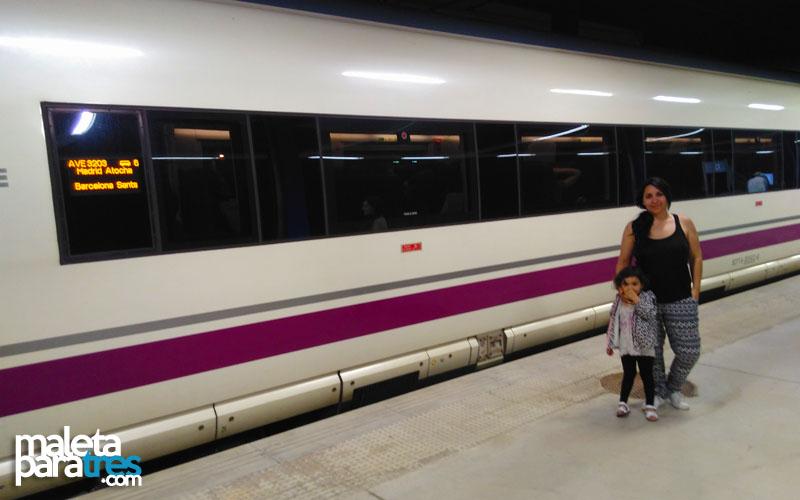 Post - Viajar con niños en tren