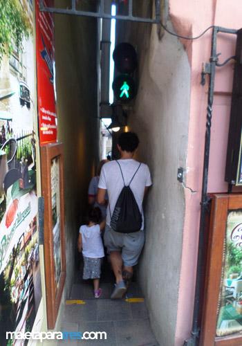 En la calle abierta de piernas y follando - 2 4