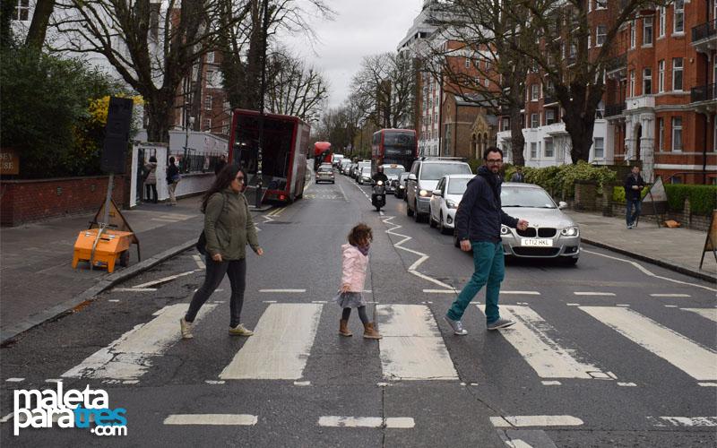 Post - Cruzando Abbey Road