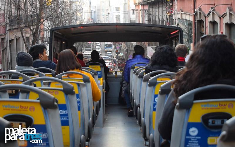 Post - Oporto en autobús turístico