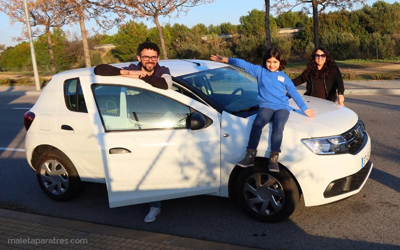Post - Viajar con niños en coche